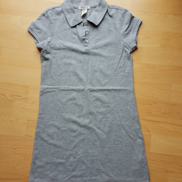 64a232781a52c Girls Uniform Short Sleeve Pique Polo Dress 9/10